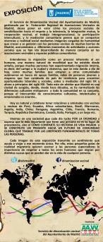 Exposición itinerante Día del Migrante